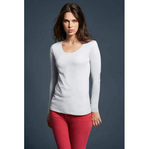 Anvil - Women`s Featherweight Long Sleeve Scoop Tee