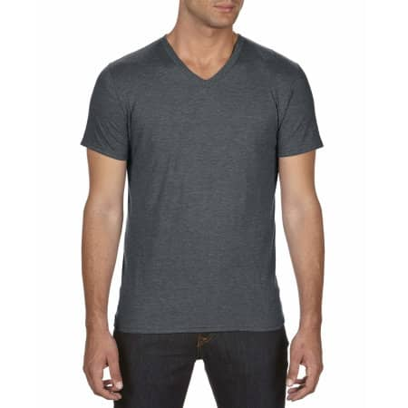 Tri-Blend V-Neck Tee von Anvil (Artnum: A6752