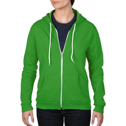 Anvil - Women`s Full Zip Hooded Sweatjacket