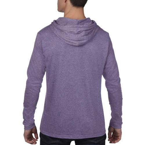 Anvil - Lightweight Long Sleeve Hooded Tee