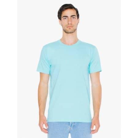 Fine Jersey Crewneck T-Shirt von American Apparel (Artnum: AA2001