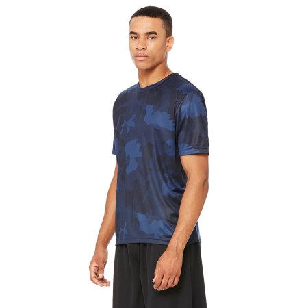 Unisex Performance Short Sleeve Tee von All Sport (Artnum: ALM1009