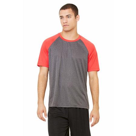 Unisex Performance Short Sleeve Raglan Tee von All Sport (Artnum: ALM1029