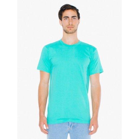 Unisex Fine Jersey T-Shirt in Mint von American Apparel (Artnum: AM2001