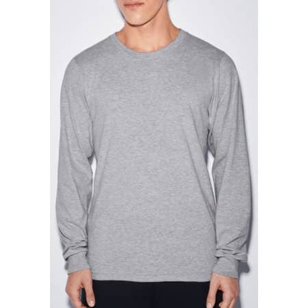 Unisex Fine Jersey Long Sleeve T-Shirt von American Apparel (Artnum: AM2007