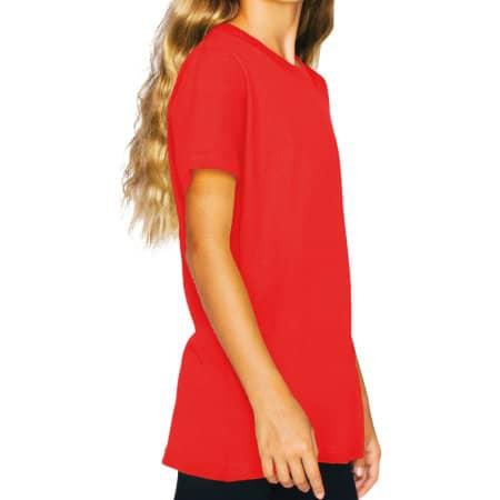 Youth Fine Jersey Short Sleeve T-Shirt von American Apparel (Artnum: AM2201