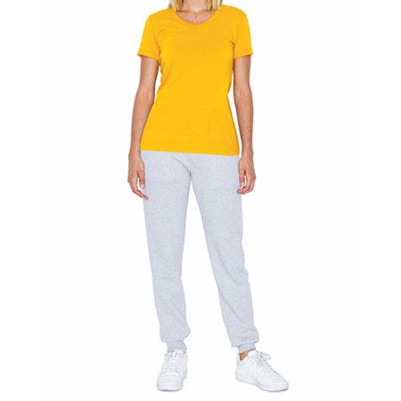 Women`s Poly-Cotton Crew Neck T-Shirt von American Apparel (Artnum: AM3010