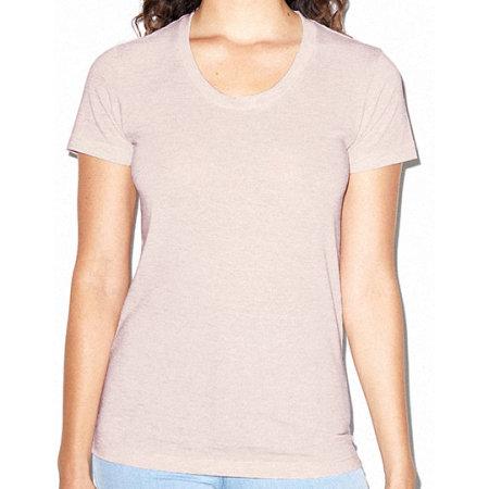 Women`s Tri-Blend Track T-Shirt von American Apparel (Artnum: AM301W