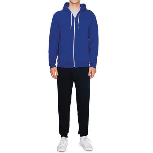 American Apparel - Unisex Flex Fleece Zip Hooded Sweatshirt