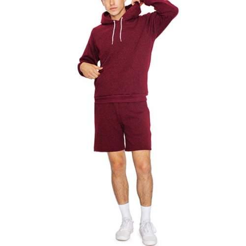 American Apparel - Unisex Mock Twist Pullover Hooded Sweatshirt