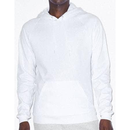 Unisex California Fleece Pullover Hooded Sweatshirt von American Apparel (Artnum: AM5495