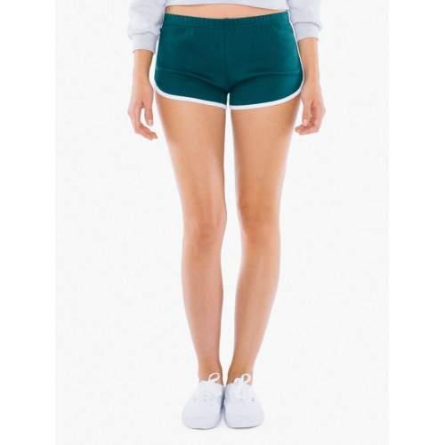 American Apparel - Women`s Interlock Running Shorts