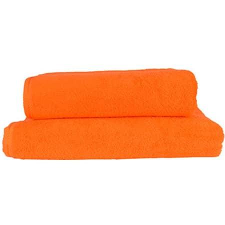 Bath Towel AR036 in Bright Orange von A&R (Artnum: AR036