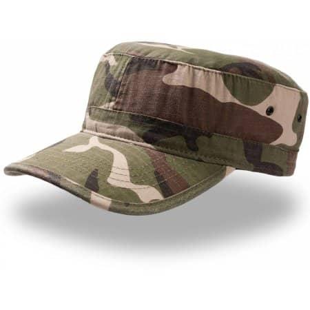 Army Cap AT300 in Camouflage von Atlantis (Artnum: AT300