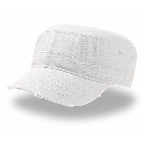Urban Destroyed Cap in White von Atlantis (Artnum: AT328