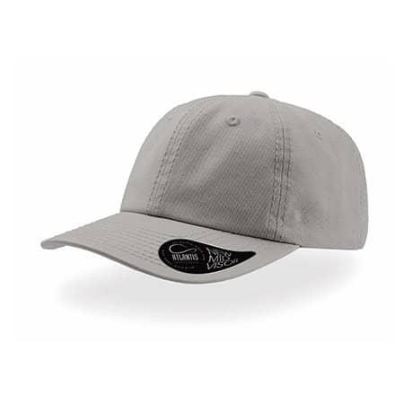 Dad Hat - Baseball Cap in Grey von Atlantis (Artnum: AT409