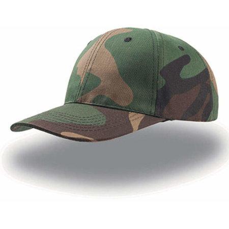 Start Six Cap in Camouflage von Atlantis (Artnum: AT613
