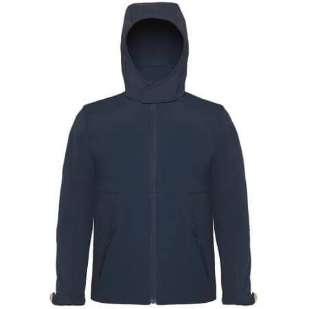 Hooded Softshell / Kids von B&C (Artnum: BCJK969