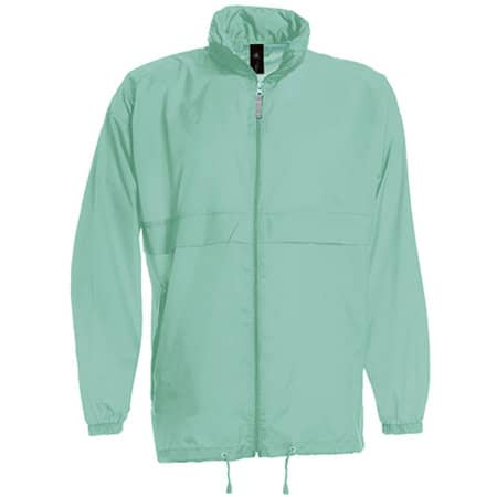 Jacket Sirocco /Unisex in Pixel Turquoise von B&C (Artnum: BCJU800