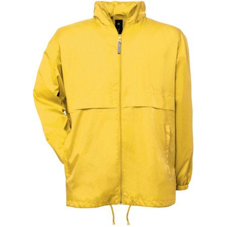 Jacket Air / Unisex in Very Yellow von B&C (Artnum: BCJU801
