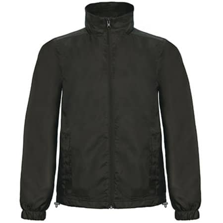 Windjacket ID601 in Black von B&C (Artnum: BCJUI60