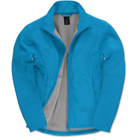 Jacket Softshell ID701 /Men in Atoll Ghost Grey von B&C (Artnum: BCJUI62