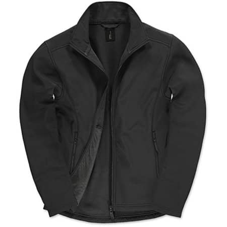 Jacket Softshell ID701 /Men in Black|Black von B&C (Artnum: BCJUI62