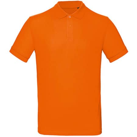 Inspire Polo / Men in Orange von B&C (Artnum: BCPM430