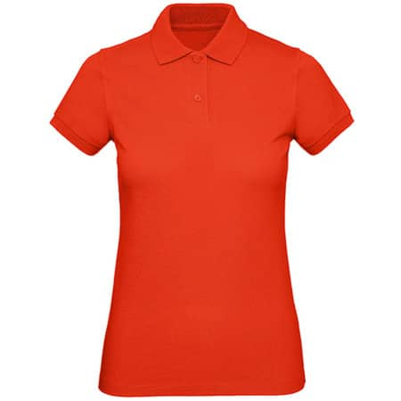 Inspire Polo / Women in Fire Red von B&C (Artnum: BCPW440