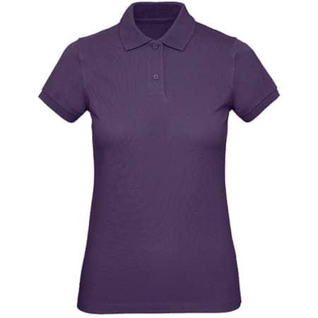 Inspire Polo / Women in Radiant Purple von B&C (Artnum: BCPW440