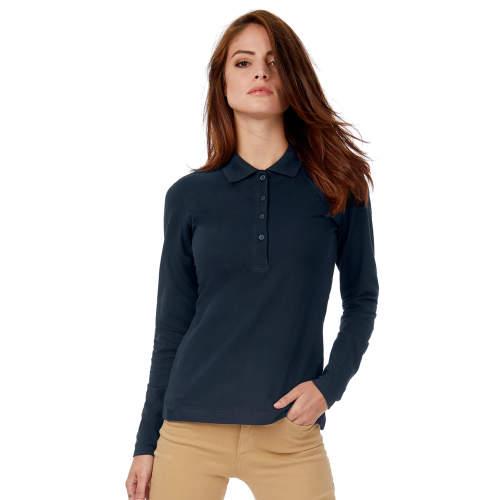 B&C - Polo Safran Pure Longsleeve / Women