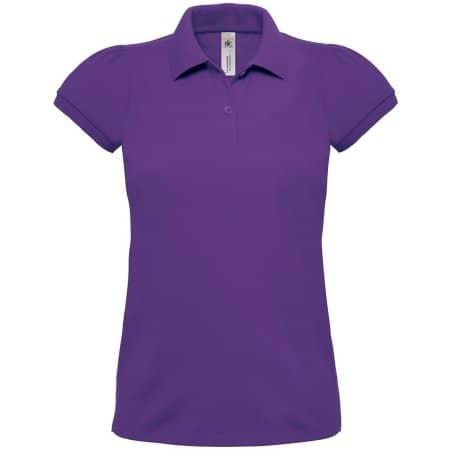 Polo Heavymill / Women in Purple von B&C (Artnum: BCPW460
