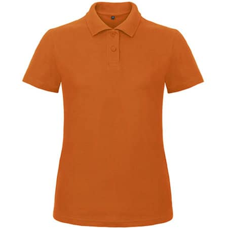 Polo ID001 / Women in Orange von B&C (Artnum: BCPWI11