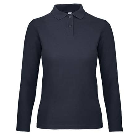 Long Sleeve Polo ID001 / Women von B&C (Artnum: BCPWI13