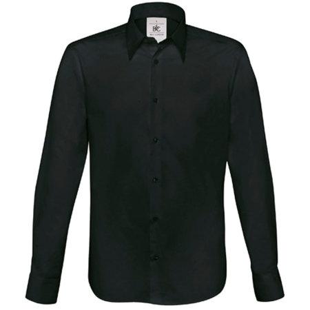 Hemd London / Men in Black von B&C (Artnum: BCSM580