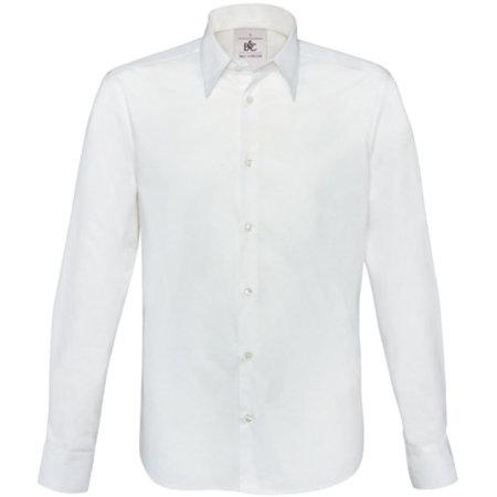Hemd London / Men in White von B&C (Artnum: BCSM580