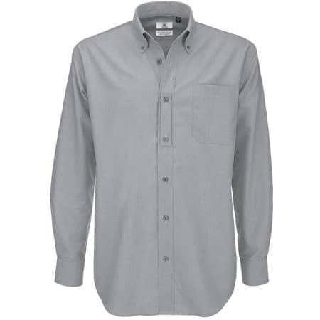 Shirt Oxford Long Sleeve /Men von B&C (Artnum: BCSMO01