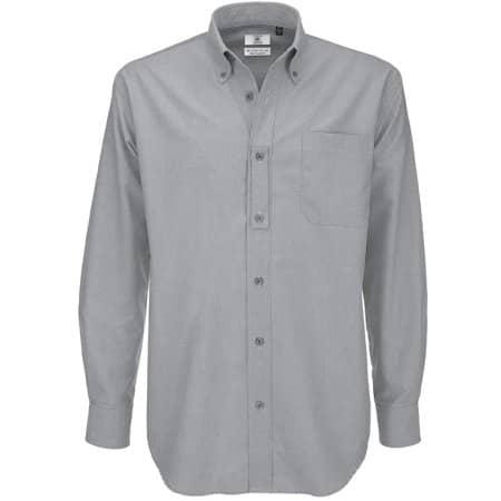 Shirt Oxford Long Sleeve /Men von B&C (Artnum: BCSMO01