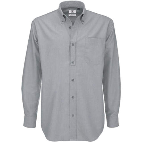 B&C - Shirt Oxford Long Sleeve /Men