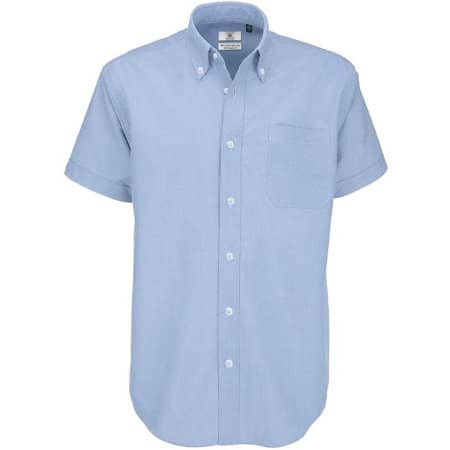 Shirt Oxford Short Sleeve /Men von B&C (Artnum: BCSMO02