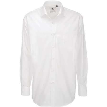 Poplin Shirt Heritage Long Sleeve / Men von B&C (Artnum: BCSMP41