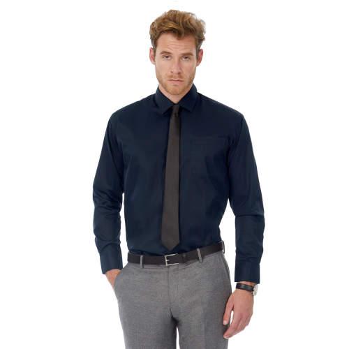 B&C - Twill Shirt Sharp Long Sleeve / Men