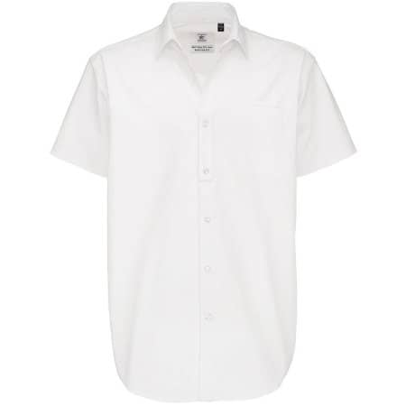 Twill Shirt Sharp Short Sleeve / Men von B&C (Artnum: BCSMT82