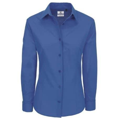 Poplin Shirt Heritage Long Sleeve / Women von B&C (Artnum: BCSWP43
