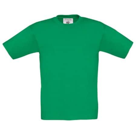 T-Shirt Exact 150 / Kids in Kelly Green von B&C (Artnum: BCTK300