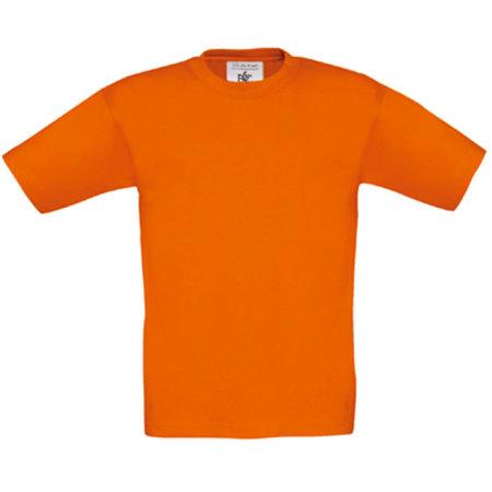 T-Shirt Exact 150 / Kids in Orange von B&C (Artnum: BCTK300