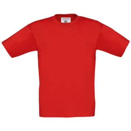 T-Shirt Exact 150 / Kids in Red von B&C (Artnum: BCTK300