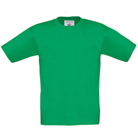 T-Shirt Exact 190 / Kids in Kelly Green von B&C (Artnum: BCTK301