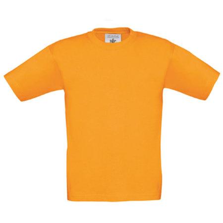 T-Shirt Exact 190 / Kids in Orange von B&C (Artnum: BCTK301