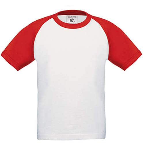B&C - T-Shirt Base-Ball / Kids